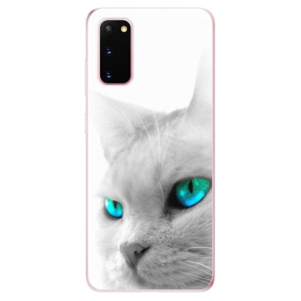 Odolné silikonové pouzdro iSaprio - Cats Eyes - Samsung Galaxy S20