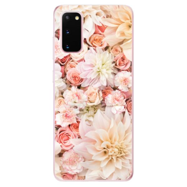 Odolné silikonové pouzdro iSaprio - Flower Pattern 06 - Samsung Galaxy S20