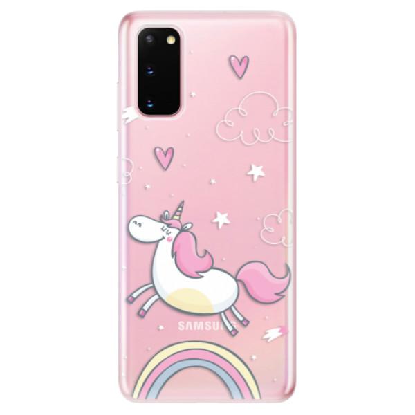 Odolné silikonové pouzdro iSaprio - Unicorn 01 - Samsung Galaxy S20