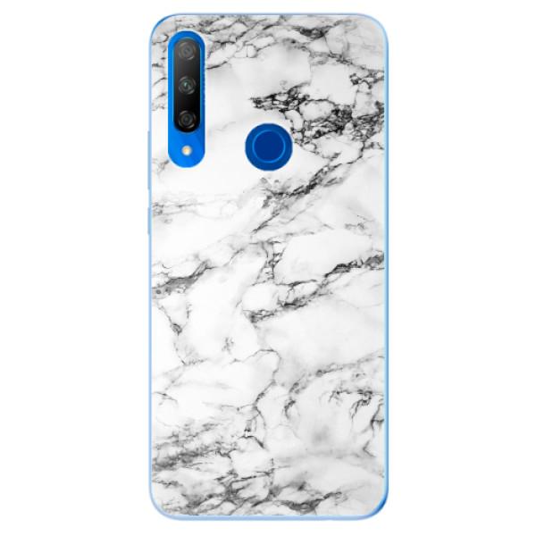 Odolné silikonové pouzdro iSaprio - White Marble 01 - Huawei Honor 9X