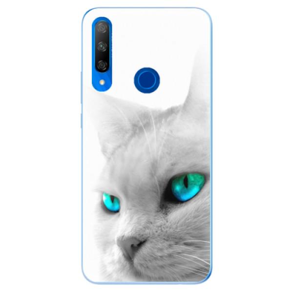 Odolné silikonové pouzdro iSaprio - Cats Eyes - Huawei Honor 9X