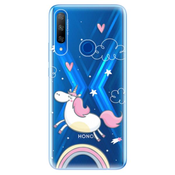 Odolné silikonové pouzdro iSaprio - Unicorn 01 - Huawei Honor 9X