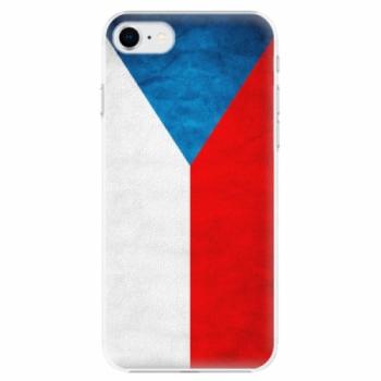 Plastové pouzdro iSaprio - Czech Flag - iPhone SE 2020