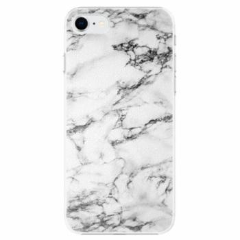 Plastové pouzdro iSaprio - White Marble 01 - iPhone SE 2020