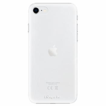 Plastové pouzdro iSaprio - 4Pure - mléčný bez potisku - iPhone SE 2020