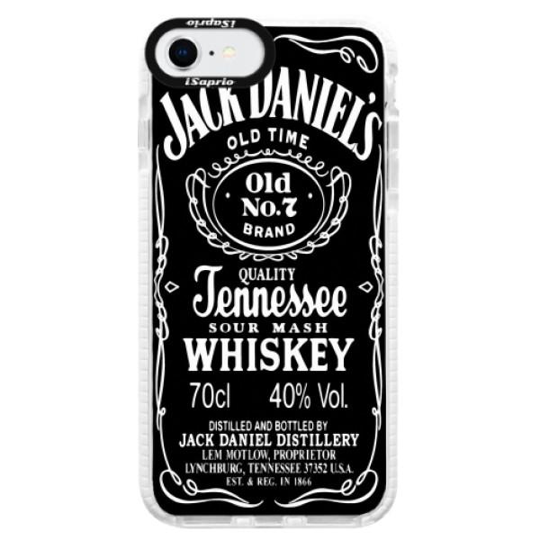 Silikonové pouzdro Bumper iSaprio - Jack Daniels - iPhone SE 2020