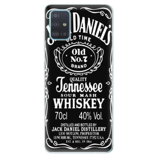 Odolné silikonové pouzdro iSaprio - Jack Daniels - Samsung Galaxy A51