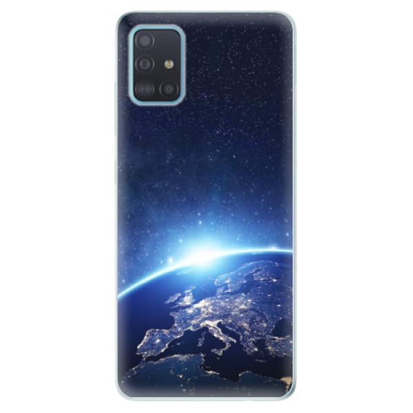 Odolné silikonové pouzdro iSaprio - Earth at Night - Samsung Galaxy A51