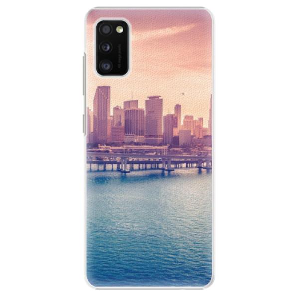 Plastové pouzdro iSaprio - Morning in a City - Samsung Galaxy A41
