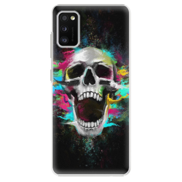 Plastové pouzdro iSaprio - Skull in Colors - Samsung Galaxy A41