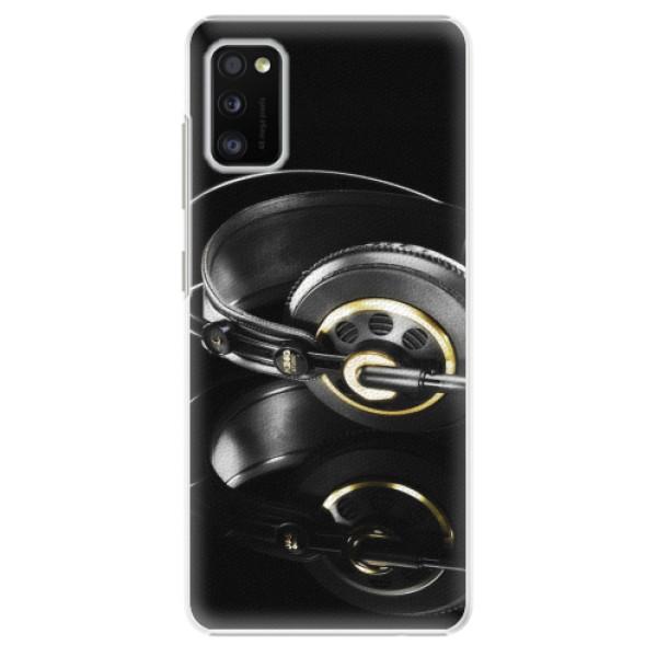 Plastové pouzdro iSaprio - Headphones 02 - Samsung Galaxy A41