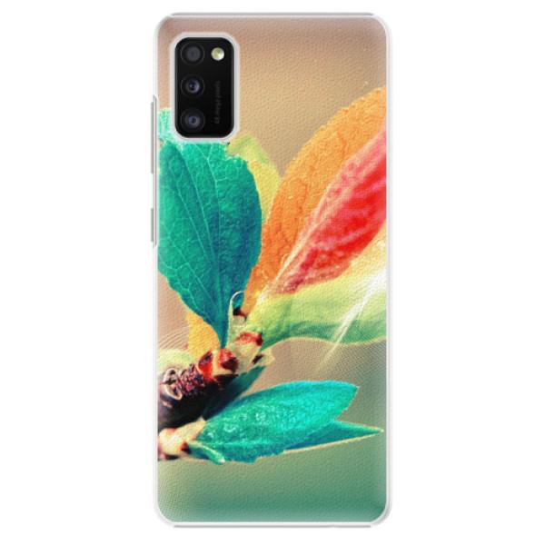 Plastové pouzdro iSaprio - Autumn 02 - Samsung Galaxy A41