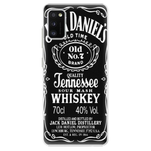 Plastové pouzdro iSaprio - Jack Daniels - Samsung Galaxy A41