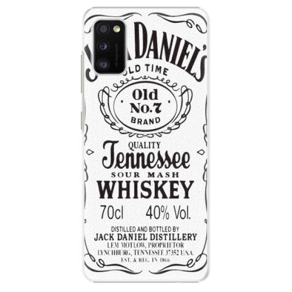 Plastové pouzdro iSaprio - Jack White - Samsung Galaxy A41
