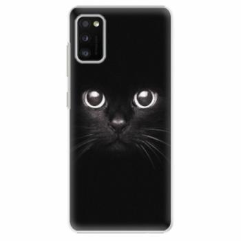 Plastové pouzdro iSaprio - Black Cat - Samsung Galaxy A41