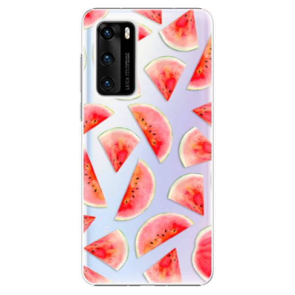 Plastové pouzdro iSaprio - Melon Pattern 02 - Huawei P40