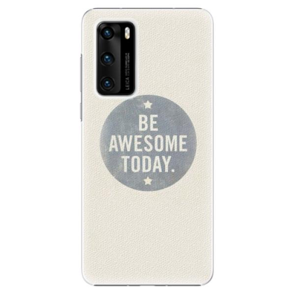 Plastové pouzdro iSaprio - Awesome 02 - Huawei P40