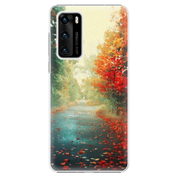 Plastové pouzdro iSaprio - Autumn 03 - Huawei P40