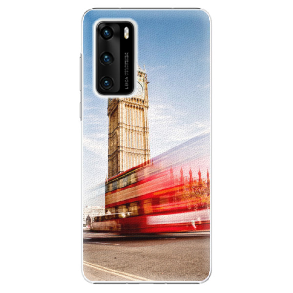 Plastové pouzdro iSaprio - London 01 - Huawei P40
