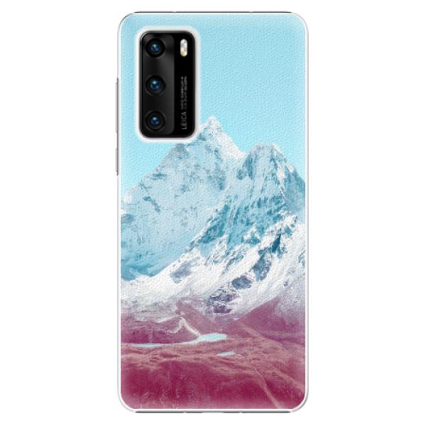 Plastové pouzdro iSaprio - Highest Mountains 01 - Huawei P40