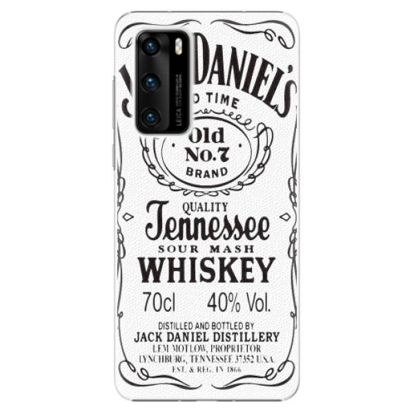 Plastové pouzdro iSaprio - Jack White - Huawei P40