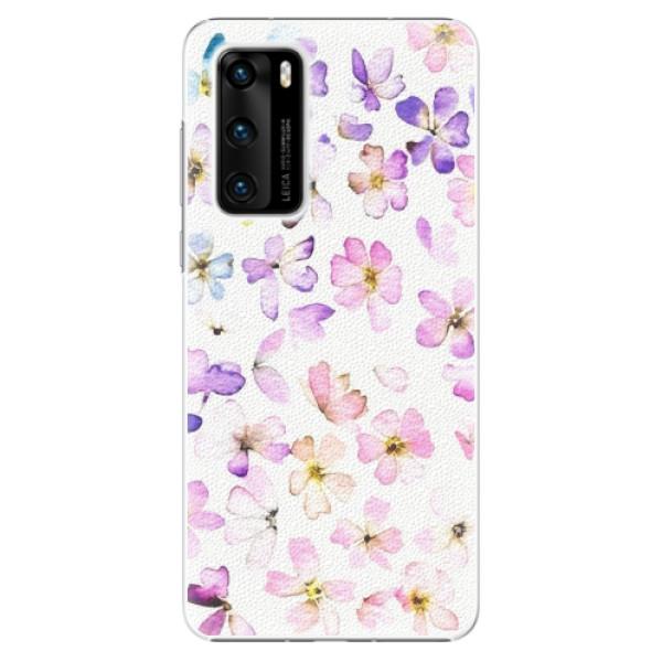 Plastové pouzdro iSaprio - Wildflowers - Huawei P40