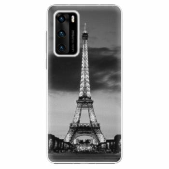Plastové pouzdro iSaprio - Midnight in Paris - Huawei P40