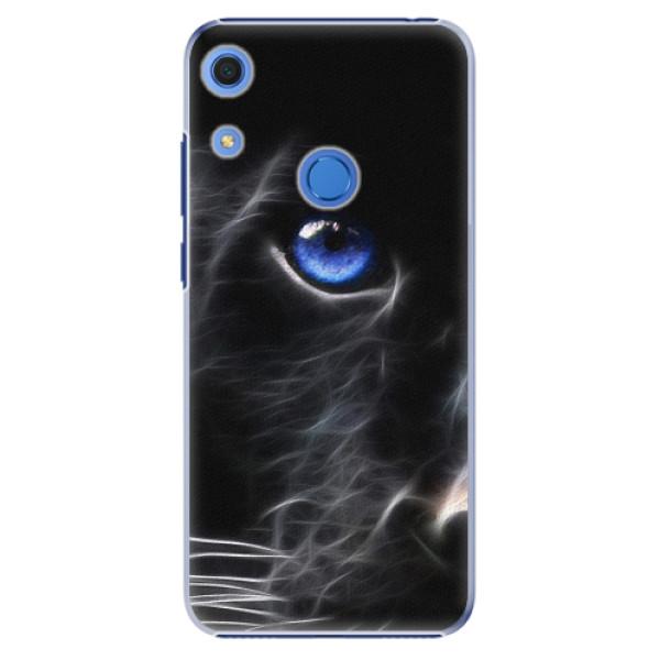 Plastové pouzdro iSaprio - Black Puma - Huawei Y6s