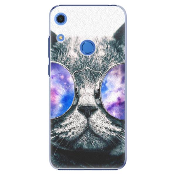 Plastové pouzdro iSaprio - Galaxy Cat - Huawei Y6s