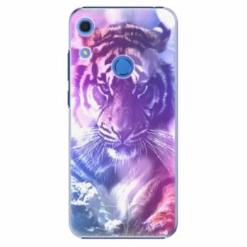 Plastové pouzdro iSaprio - Purple Tiger - Huawei Y6s