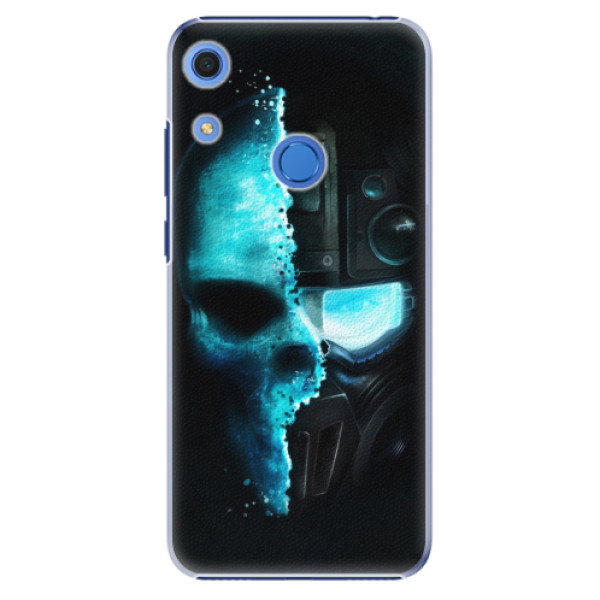 Plastové pouzdro iSaprio - Roboskull - Huawei Y6s