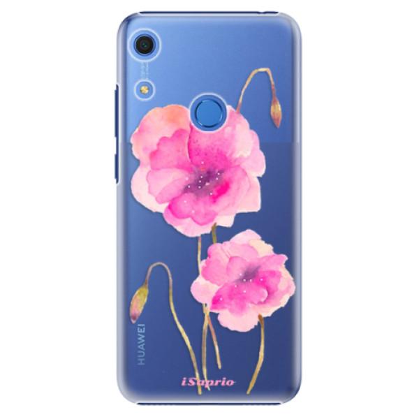 Plastové pouzdro iSaprio - Poppies 02 - Huawei Y6s