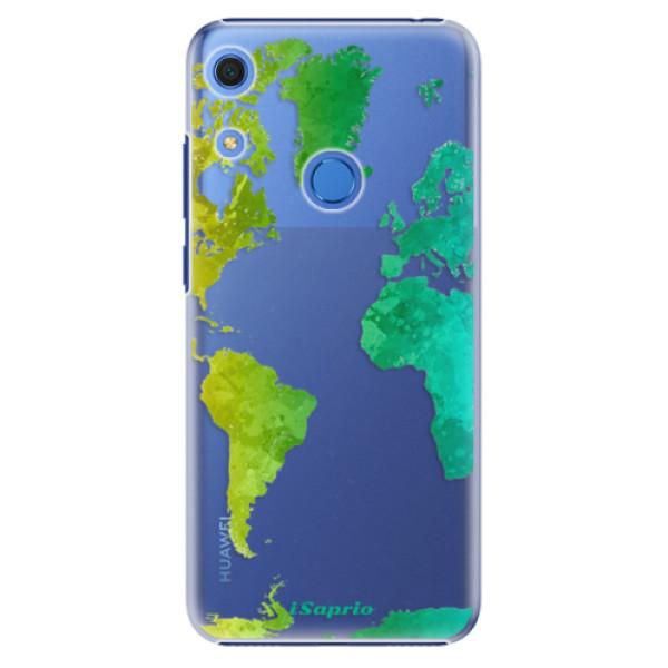 Plastové pouzdro iSaprio - Cold Map - Huawei Y6s