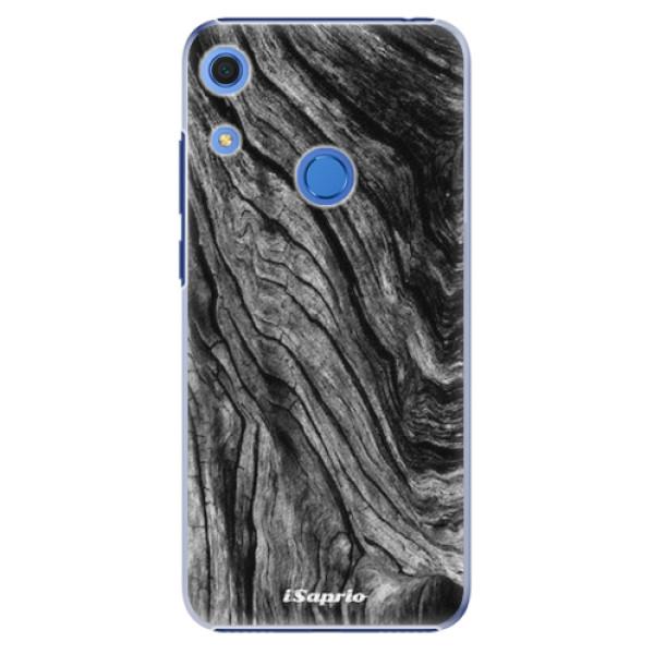 Plastové pouzdro iSaprio - Burned Wood - Huawei Y6s