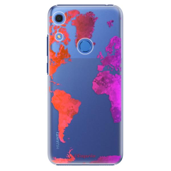 Plastové pouzdro iSaprio - Warm Map - Huawei Y6s