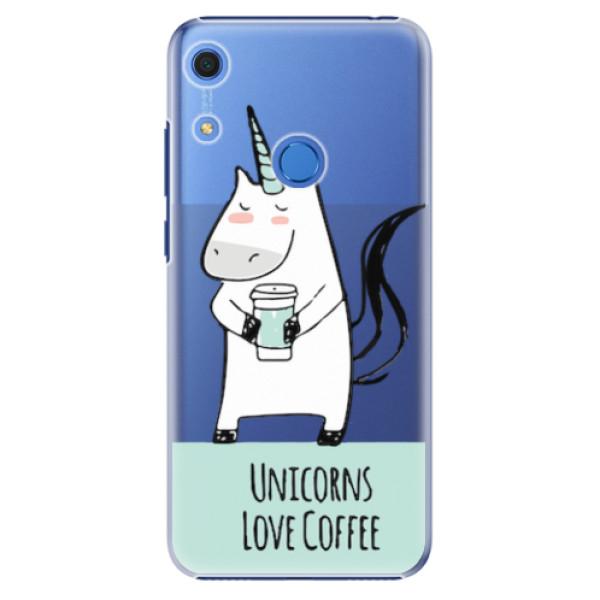 Plastové pouzdro iSaprio - Unicorns Love Coffee - Huawei Y6s