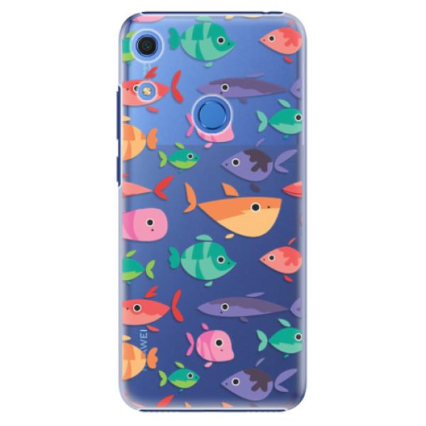 Plastové pouzdro iSaprio - Fish pattern 01 - Huawei Y6s