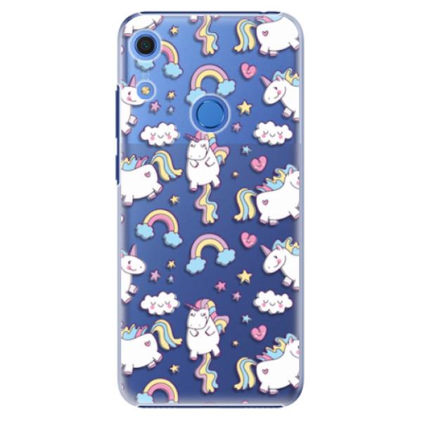 Plastové pouzdro iSaprio - Unicorn pattern 02 - Huawei Y6s