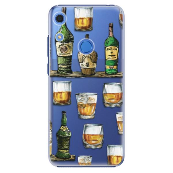 Plastové pouzdro iSaprio - Whisky pattern - Huawei Y6s