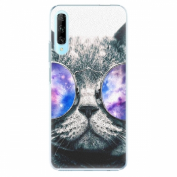 Plastové pouzdro iSaprio - Galaxy Cat - Huawei P Smart Pro