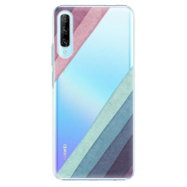 Plastové pouzdro iSaprio - Glitter Stripes 01 - Huawei P Smart Pro