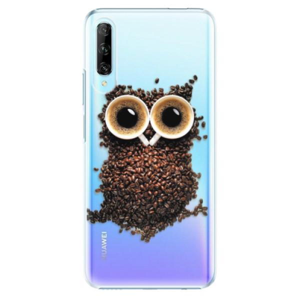 Plastové pouzdro iSaprio - Owl And Coffee - Huawei P Smart Pro