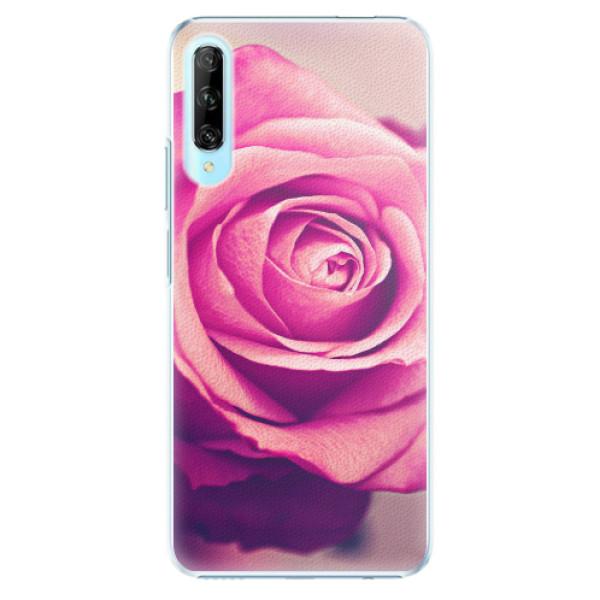 Plastové pouzdro iSaprio - Pink Rose - Huawei P Smart Pro