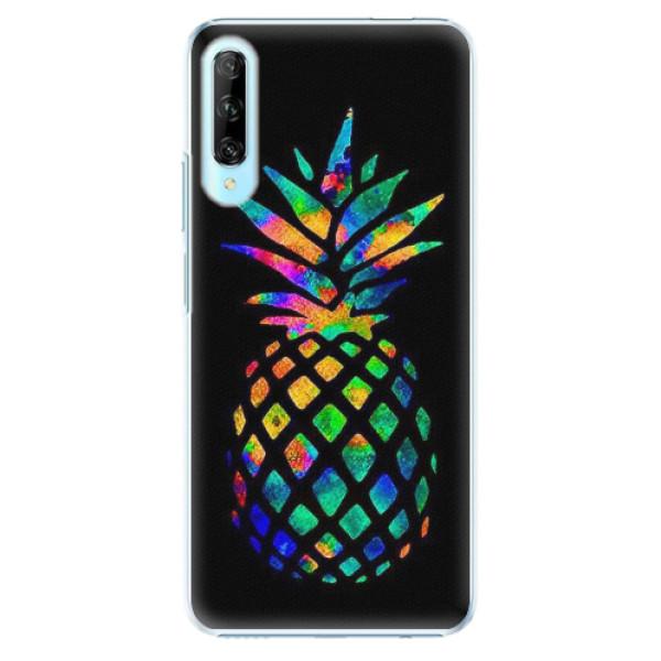 Plastové pouzdro iSaprio - Rainbow Pineapple - Huawei P Smart Pro