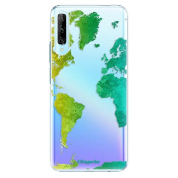 Plastové pouzdro iSaprio - Cold Map - Huawei P Smart Pro