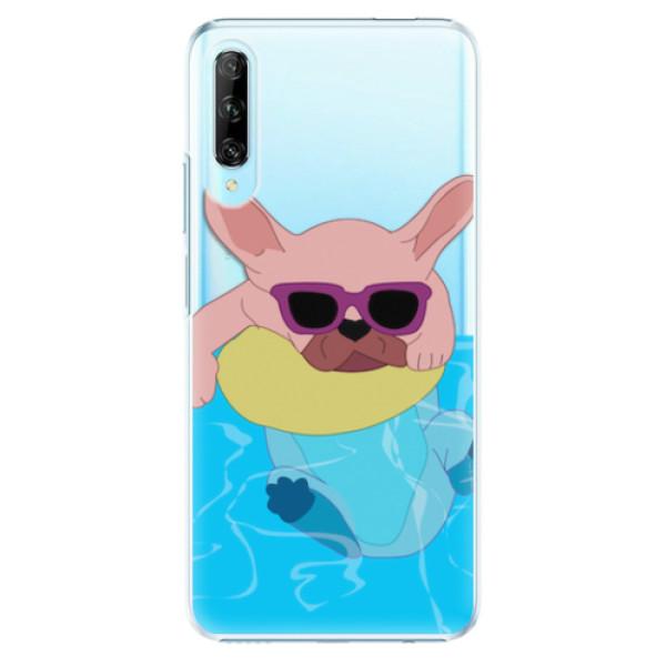 Plastové pouzdro iSaprio - Swimming Dog - Huawei P Smart Pro