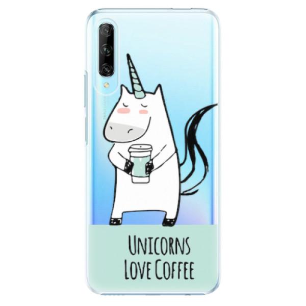Plastové pouzdro iSaprio - Unicorns Love Coffee - Huawei P Smart Pro