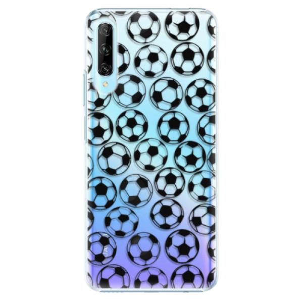 Plastové pouzdro iSaprio - Football pattern - black - Huawei P Smart Pro