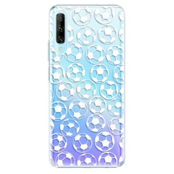 Plastové pouzdro iSaprio - Football pattern - white - Huawei P Smart Pro