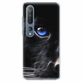 Plastové pouzdro iSaprio - Black Puma - Xiaomi Mi 10 / Mi 10 Pro